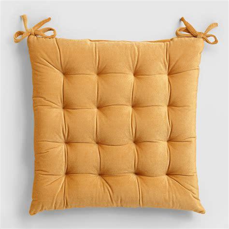 velvet bench cushion gold velvet chair cushion world market