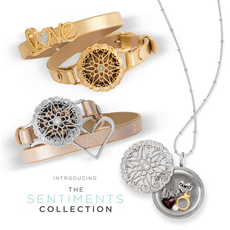 Origami Owl Collection - introducing the sentiments moodology collections