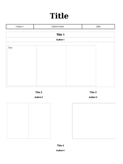blank newsletter templates free newsletter template 37 free templates in pdf word