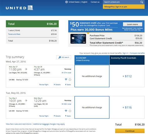united airlines booking 108 chicago to from las vegas nonstop r t fly com