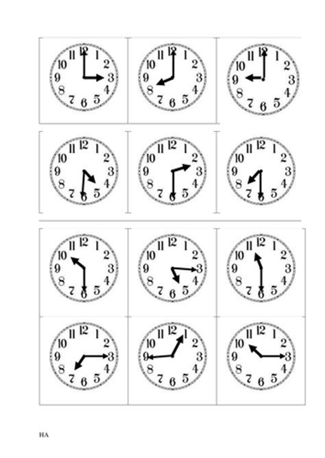clock worksheets o clock and half past year 1 and year 2 match up clock faces and times o