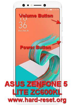 format factory zenfone 5 how to easily master format asus zenfone 5 lite zc600kl