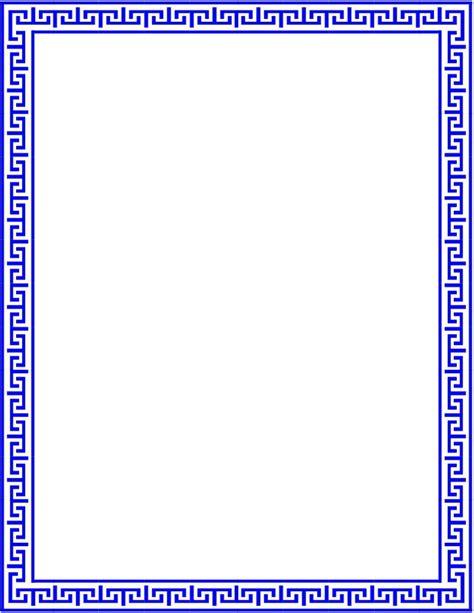 greek pattern frame greek lines page outline page frames old ornate borders
