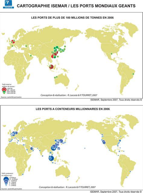 les grands arrts de monde grands ports carte populationdata net