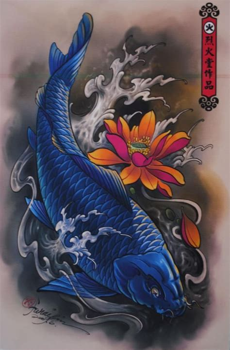 girly koi fish tattoo designs koi tattoos shop design posters