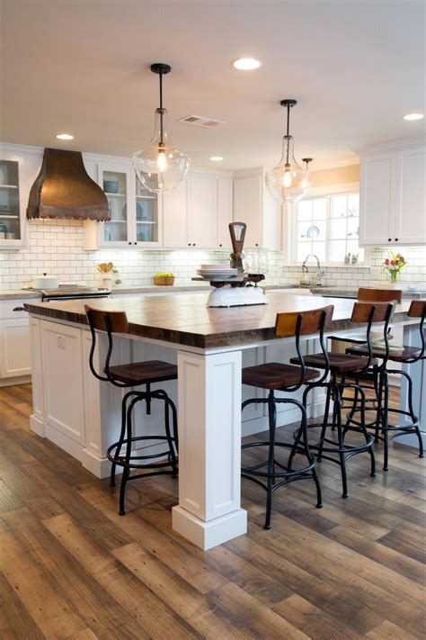 kitchen with dining table dining table kitchen island home decorating trends homedit