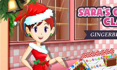 sara s cooking class gingerbread house sara s cooking class gingerbread house best fun girl game youtube