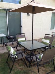Offerup patio table set furniture in chandler az