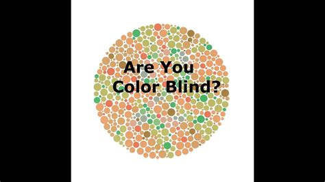 color blind teat are you color blind