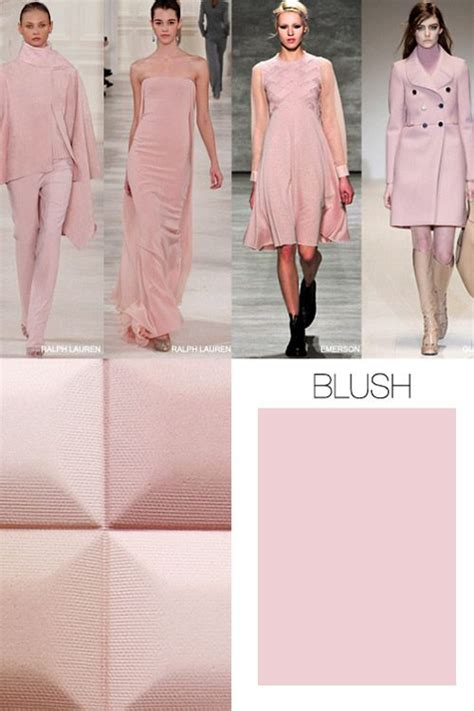7 Trendy Fashion Colors For Winter by Pink Is The Key Color Trend For Fall Winter 2015 2016