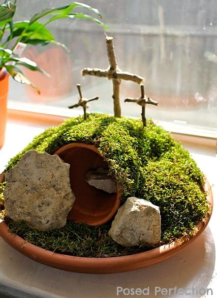 Easter Garden by Posed Perfection How To Make An Easter Garden
