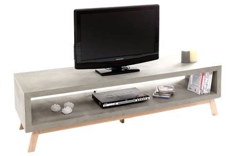banc tv fly banc tv beton fly table de lit