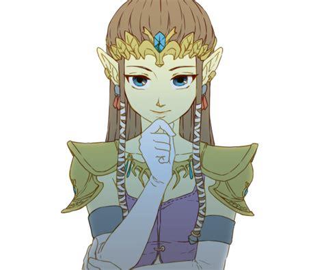 princess zelda hair safebooru brown hair earrings gloves jewelry long hair