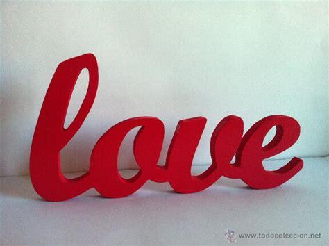 love letras decoracion letras de madera love 1 5 personalizado comprar