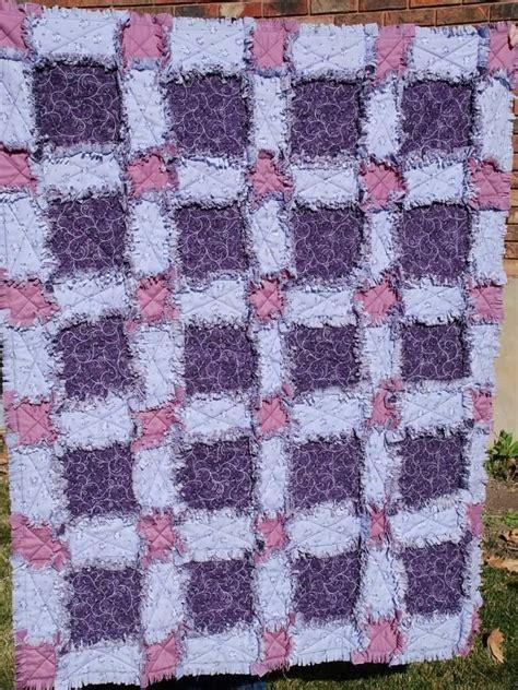 pattern rag quilt rag quilt cute craft rag quilts pinterest best