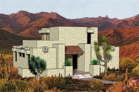 adobe southwestern style house plan 3 beds 2 00 baths