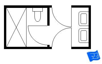 Jack And Jill Floor Plans layout for jack and jill bath upstairs replace doors with