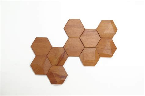 wooden design geometric wooden wall tiles by monoculo design studio