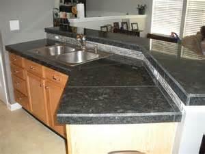 Granite Like Countertops Tile Countertops After Install Granite Tile Countertop