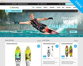 shopify ticket themes free windsurfing shopify theme