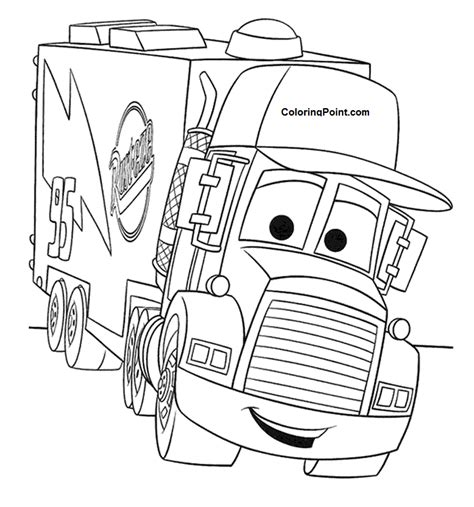 lightning mcqueen coloring pages coloring home