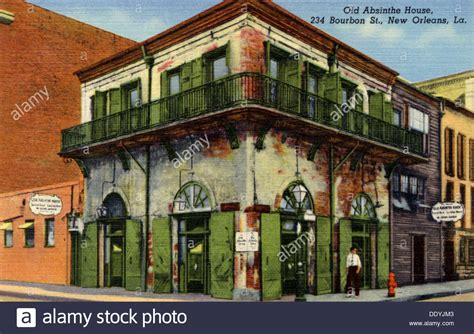 buy house new orleans old absinthe house 234 bourbon street new orleans louisiana usa stock photo