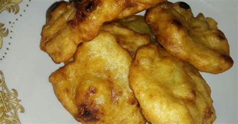resep pisang ayam enak  sederhana cookpad