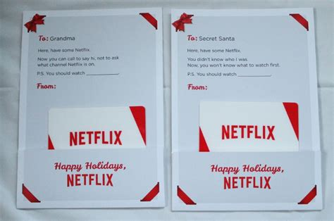 Netflix Uk Gift Card - a last minute stocking stuffer sure to please netflix