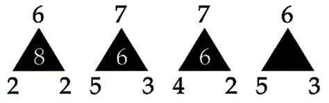 pattern recognition questions and answers pattern recognition brain teaser the empty triangle