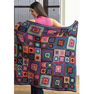 patons pattern library ravelry bright squares blanket pattern by patons