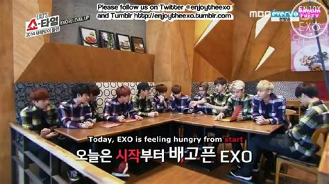 exo showtime ep 3 korean is my soul byun baekhyun exo showtime ep 8
