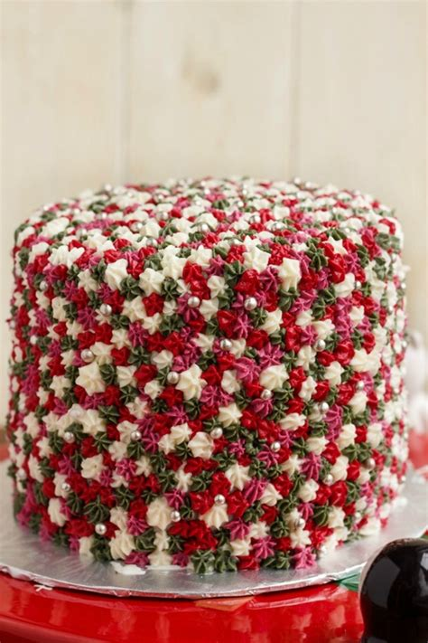 60 easy christmas cake decoration ideas