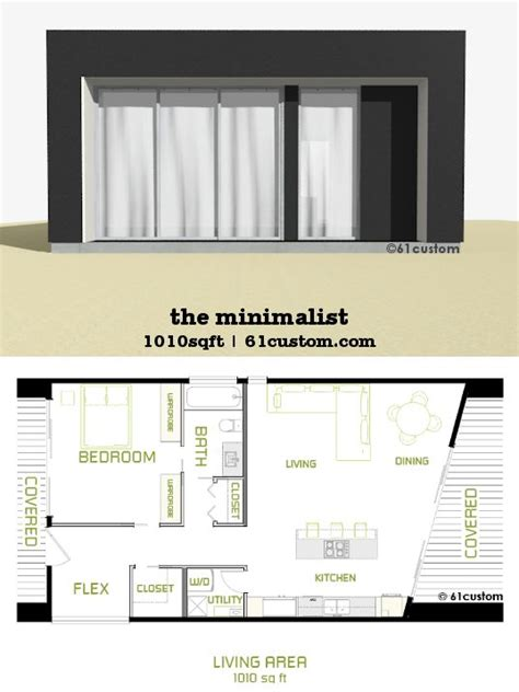 Small Modern Floor Plans the minimalist small modern house plan small modern
