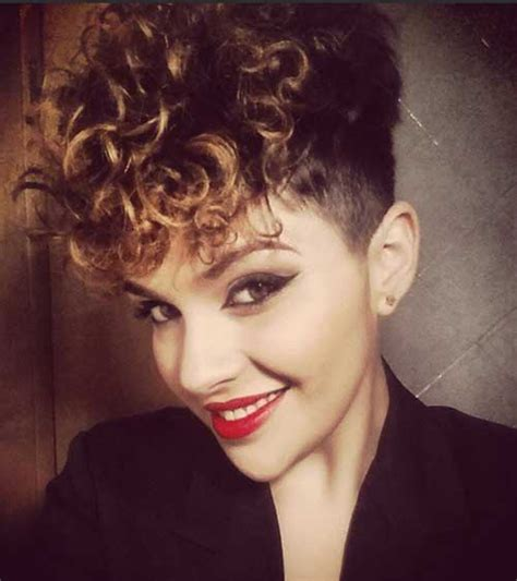 hairstyles for very curly short hair 20 very short curly hairstyles short hairstyles 2017