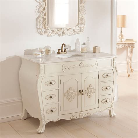 antique vanity unit shabby chic bathroom furniture