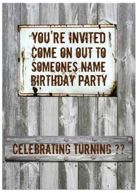 Ultimate List 100 Redneck Party Ideas By A Professional Party Planner White Trash Invitation Templates