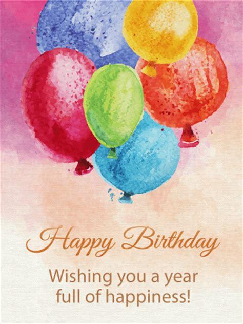 birthday painting painting birthday balloon card birthday greeting cards