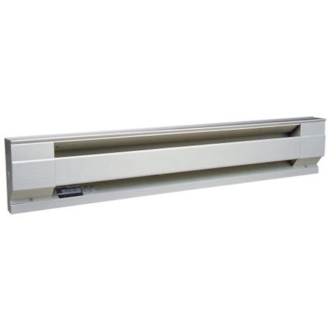 6 ft electric baseboard heater cadet manufacturing 09952 240 volt white baseboard