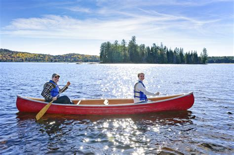 canoes in what could be better in summers than the fun and soothing