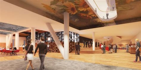 foyer theater residents decide between unstudio and eha for theater