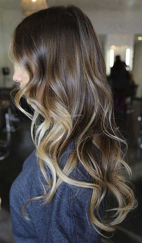 brunette to blonde ombre images 25 best ombre hair color hairstyles haircuts 2016 2017