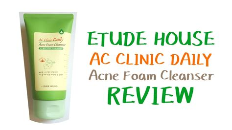 Harga Etude House Ac Clinic Daily Acne Foam Cleanser etude house ac clinic daily acne foam cleanser review