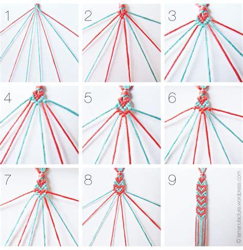 Heart Pattern Bracelet Tutorial | heart pattern friendship bracelets tutorial allcrafts