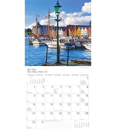 A C T Calendar Wall Calendar Hurtigruten T C 2016