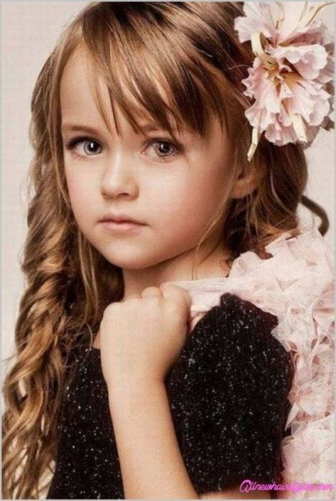 girl hairstyles with bangs little girl haircuts with side bangs allnewhairstyles com