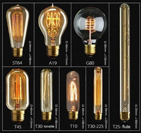 edison type light bulbs 2017 wholesale vintage edison bulb clear glass light bulbs