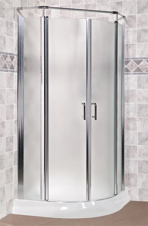 Curved Glass Shower Door Arista Em32 Curved Glass Corner Pivot Shower Doors 32 Quot Ebay