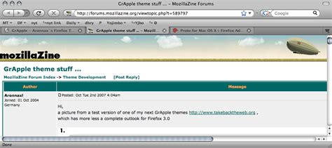 firefox horse themes daring fireball linked list march 2008