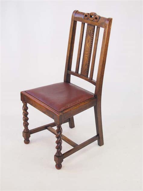 vintage oak chairs set 4 vintage oak dining chairs circa 1920s
