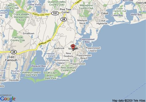 where is cape cod located on a map map of cape cod estates mashpee